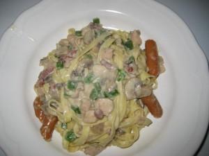 pasta i flødesovs